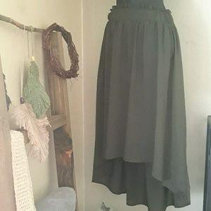 Mossimo Asymetric Skirt